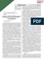 1866115-1 Aprueban protocolos sectoriales