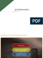 PROGRAMACION DINAMICA DETERMINISTICA - PARTE 1