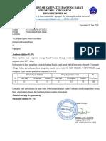 Surat Permohonan Blanko Ijasah Contoh