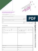 LCFInternationalAmended UG Application Form