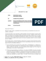 Circular No. 011 de 8 de abril -Nuevas recomendaciones para el desarrollo de la actividad académica de docencia con apoyo de herramientas tecnológicas