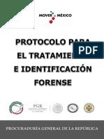 Protocolo Para El Tratamiento e Identificación Forense PGR