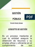 Gestión Pública y los Sistemas Administrativos  2020