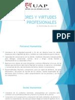 VALORES Y VIRTUDES PROFESIONALES 04-10-16