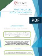 IMPORTACIA DEL AUTOCONOCIMIENTO 10-10