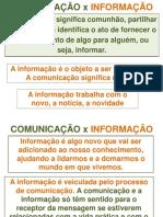 AULA 4- INFORMAÇÃO, COMUNICAÇÃO E ORGANIZAÇÕES