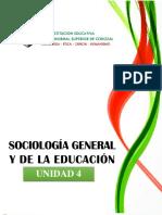 Sociología General_Unidad 4