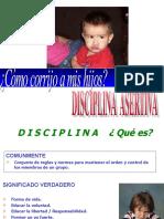 DISCIPLINA CON AMOR-LIMITES