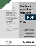 PRACTICA TRIBUTARIA 903 - ABRIL 2020