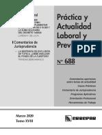 Práctica Laboral 688 - marzo 2020