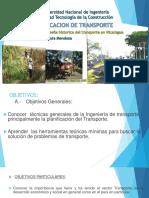 0 UNIDAD I- RESENA HIST DEL TRANSP EN  NICARAGUA