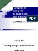 Principles of Marketing Chap 1