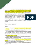 NORMAS - simulación procesal penal