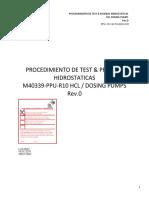 PPU-101-SLTX-DOC-018 prueba hidrostatica