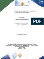 Tarea 1 - PLE, Modelos de transportes y asignación