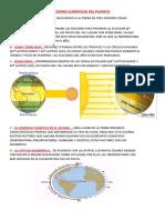 LAS ZONAS CLIMÁTICAS DEL PLANETA ( CLASE Y ACTIVIDAD)