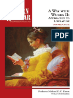 (Modern scholar) Michael D  C Drout - A way with words II _ approaches to literature-Recorded Books (2007).pdf