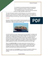 Trasnporte Maritimo y Fluvial