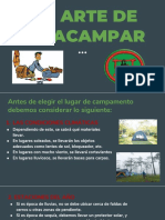 ARTE DE ACAMPAR