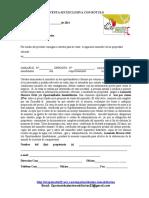Formato Consignacion de venta sin exclusiva con rotulo Formato en blanco