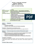 PLANEACION EMERGENTE ESPAÑOL 3 A,B,D,E
