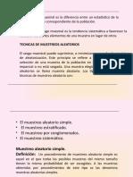 TIPOS DE MUESTREO Y DISTRIBUCION MUESTRAL DE MEDIAS.pptx