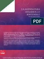 La agenda para Desarrollo Sostenible.pptx