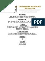 INVESTIGACION LEY DEL SEGURO SOC