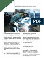 Aprueban protocolos sanitarios para retorno de industria metalmecánica y de cemento _ Noticias _ Agencia Peruana de Noticias Andina