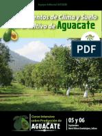 56. Requerimientos de Suelo y Clima del Cultivo de Aguacate