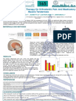 POSTER Effect Of Clear Aligner Therapy On Orthodontic Pain And Masticatory