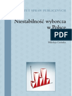 Niestabilność wyborcza w Polsce