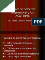 Cámara de Comercio Internacional y los INCOTERMS