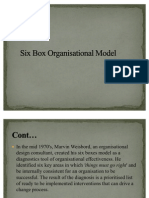 Six Box organisation model
