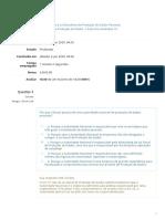 INTRODUÇÃO À LEI BRASILEIRA DE PROTEÇÃO DE DADOS PESSOAIS -Exercício Avaliativo 10