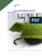 Baby Yoda Knit Hat