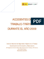 Accidentes de Trabajo-Trafico 2009