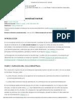 C2 Fisiología del ciclo menstrual normal - UpToDate