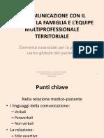 LA COMUNICAZIONE CON IL PAZIENTE, LA FAMIGLIA (1).pdf