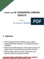 1.Conginital Cardiac Defects
