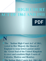 HIGH COURTS ACT