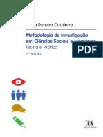 Metodologia de Investigação Em Ciências Sociais e Humanas