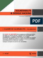 Scanners de vulnerabilité & Google Hacking