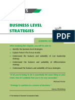 Chapter 5 Business Level Strategies