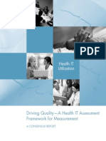 Driving Quality - A Health IT Assessment Framework for Measurement - NQF