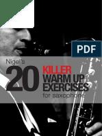 Nigels 20 KILLER Warm Up Exercises.pdf