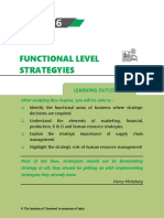 Chapter 6 Functional Level Strategies
