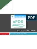 uniCenta oPOS Installation Guide v1