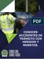 ACCIDENTE DE TRANSITO CON HERIDOS Y MUERTOS