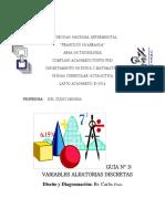 Guia 3. Distribuciones probabilisticas